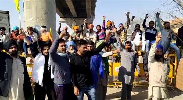 farmers protest news on delhi march