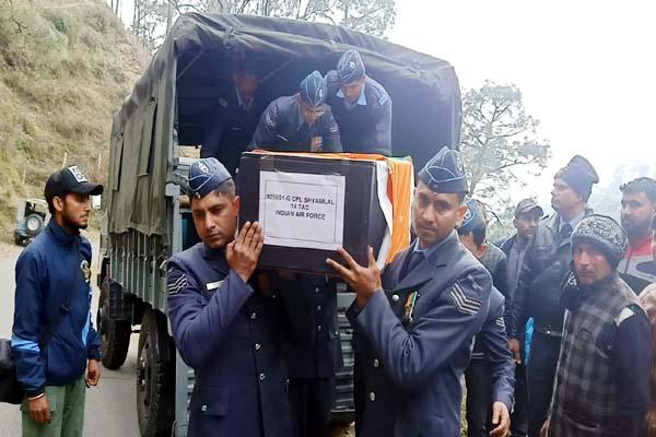 PunjabKesari, Soldier Deadbody Image
