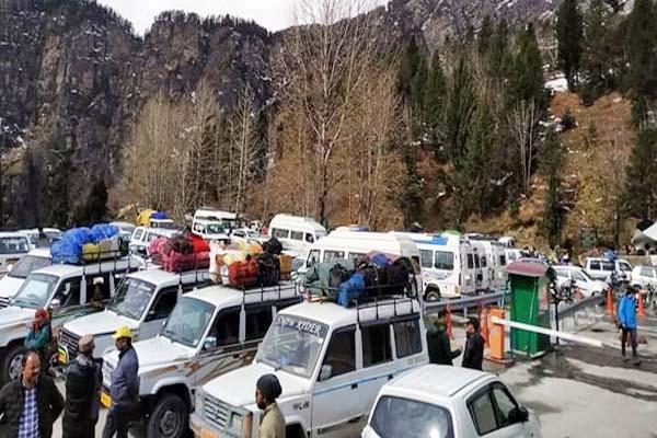 PunjabKesari, Gulaba Barrier Image
