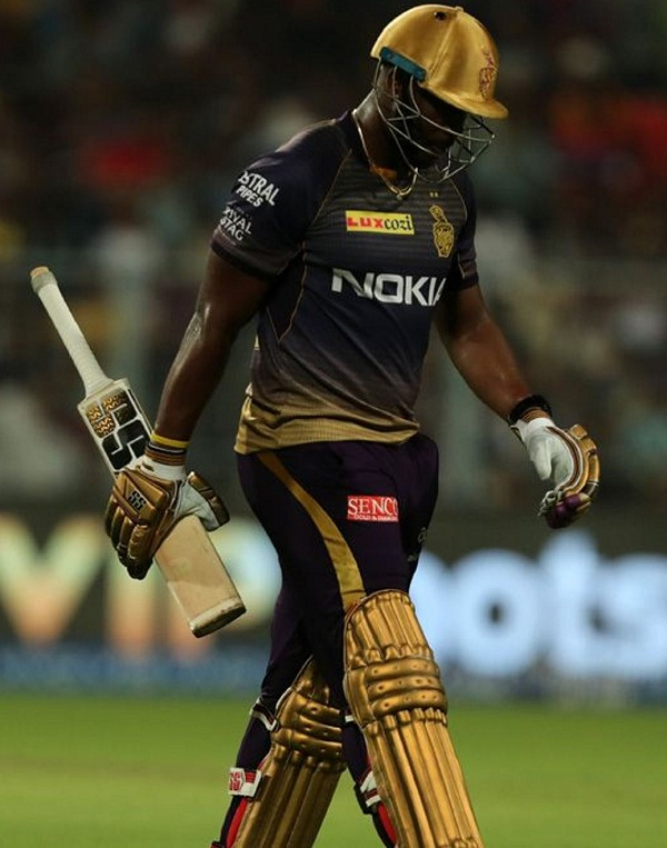 Andre Russell show his muscle power, hitting average 4.14 six in every match