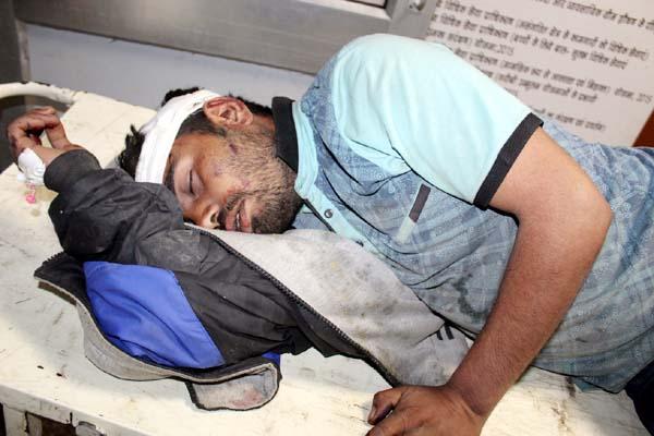 PunjabKesari, Injured Person Image