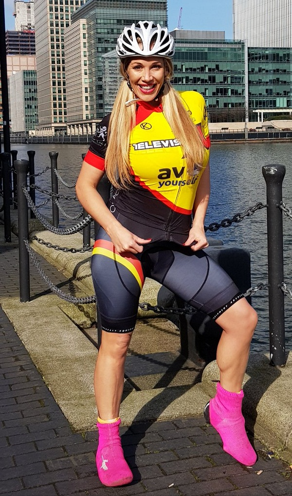 Porn star Rebecca more ban by britain cycling association