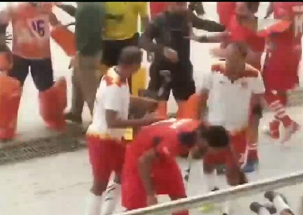 Nehru Hockey Finals: The players came out with a punch-hockey stick