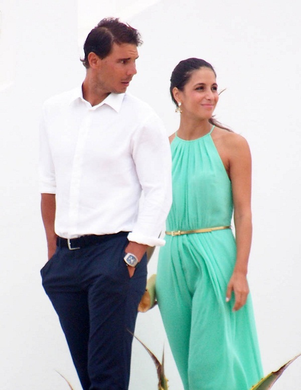 Rafael Nadal marries his girlfriend in world's most expensive resort, see photos