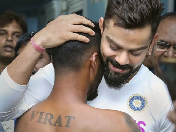 Virat Kohli gets emotional after seeing his tattoos on Fan's entire body