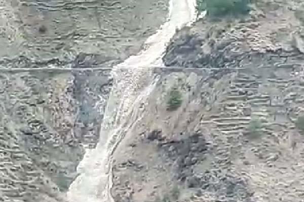 PunjabKesari, Glacier Flood Image