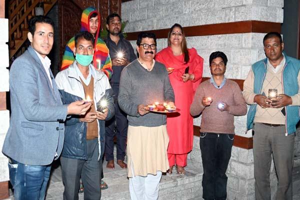 PunjabKesari, Minister Govind Thkaur Image