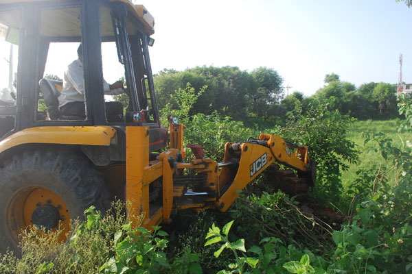 encroachments are demolished in kathua