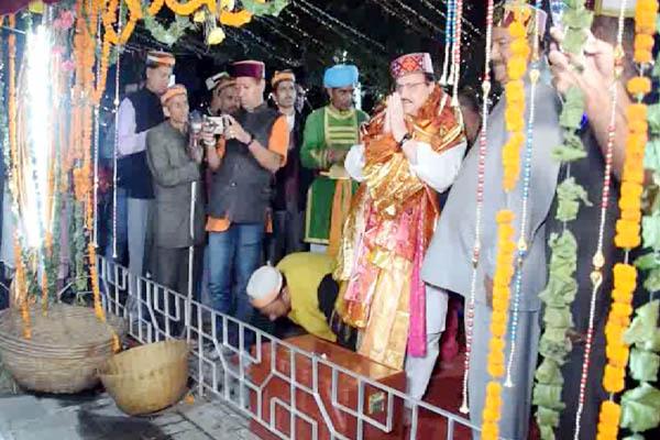 PunjabKesari, JP Nadda Image