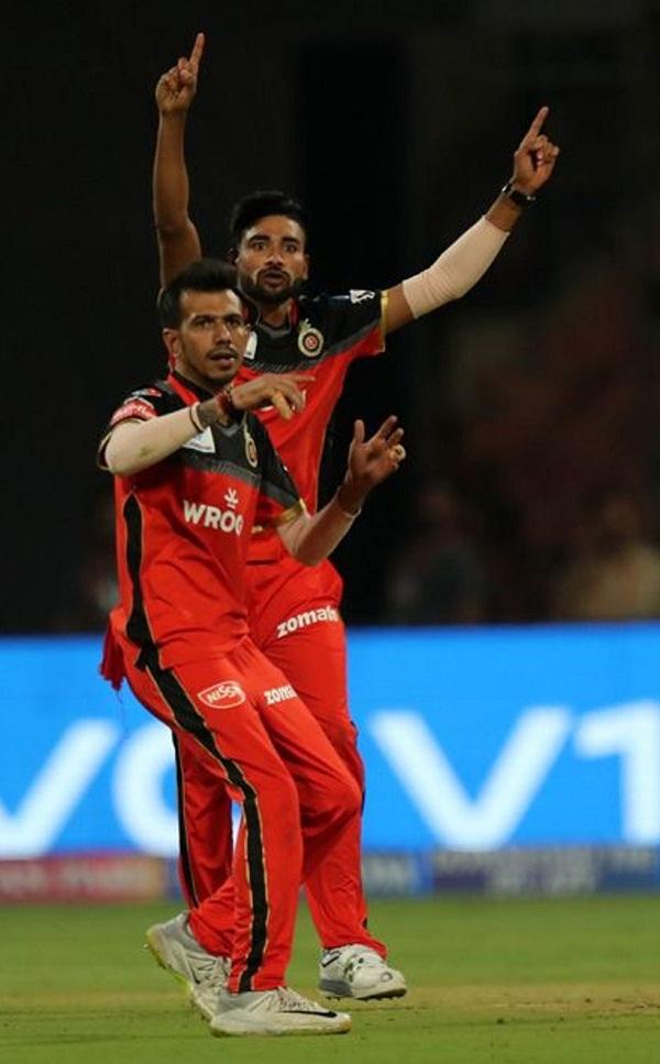 Yuzvendra Chahal take 50+ wicket in M Chinnaswamy Stadium, Bengaluru