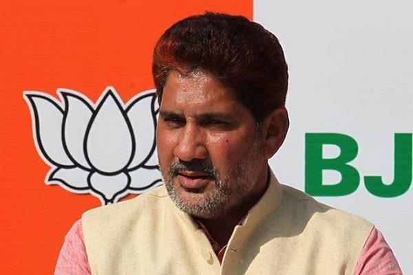 barala said former minister mangaram not meeting any bjp minister