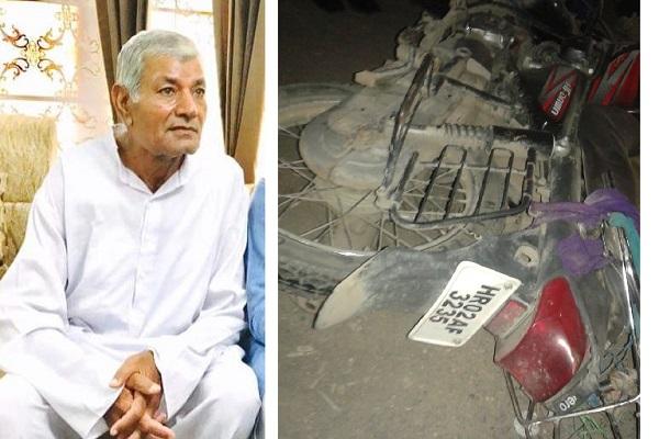 PunjabKesari, shyam sundar das arora, BJP, Accident