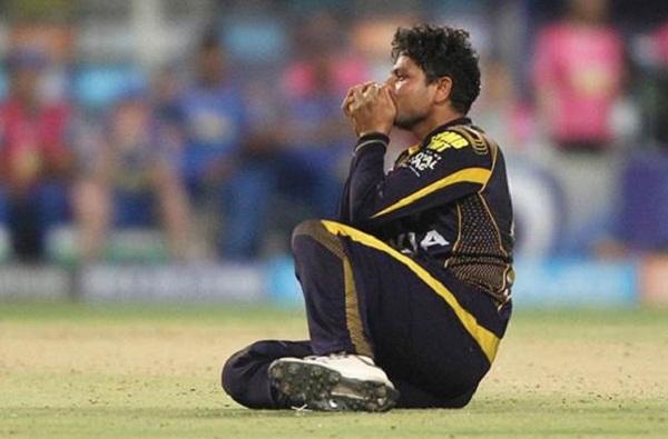 IPL 2019 : Moeen Ali destroy KKR bowler Kuldeep yadav in one over