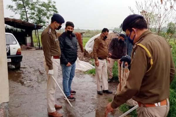 PunjabKesari, Police Action Image