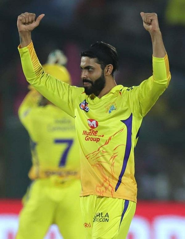 Ravindra jadeja complete 100 wicket in IPL career