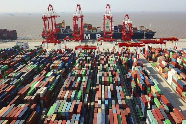 china s trade surplus in september despite the heavy duty in the us