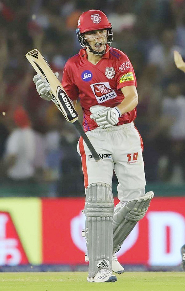 Sam Curran make fastest fifty for Kings XI Punjab in season