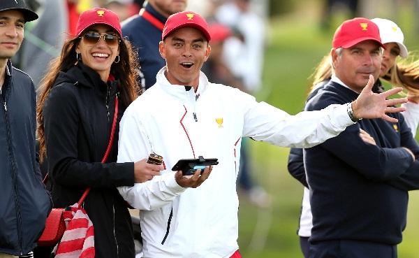 Golfer Ricky Fowler marries fitness model Allison Stoke