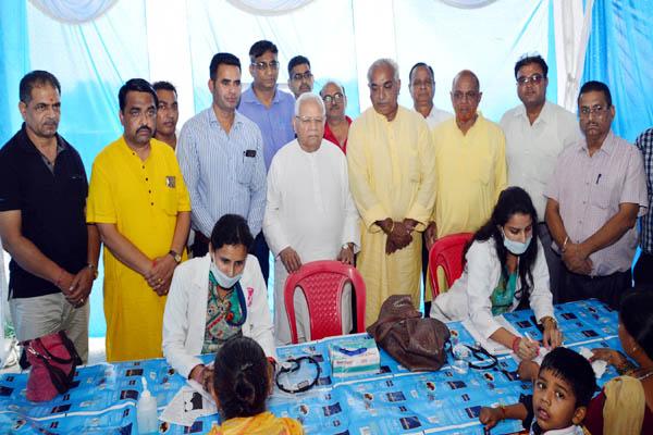 PunjabKesari, Medical Camp Image