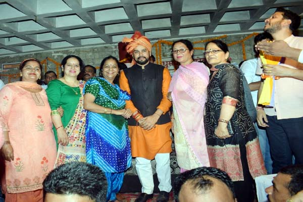PunjabKesari, Anurag Thakur Image