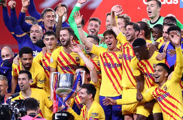 Lionel Messi, Barcelona vs Bilbao, Copa del Rey Trophy, Football news in hindi, sports news,  स्टार फुटबॉलर लियोनल मेस्सी, कोपा डेल रे टूर्नामेंट