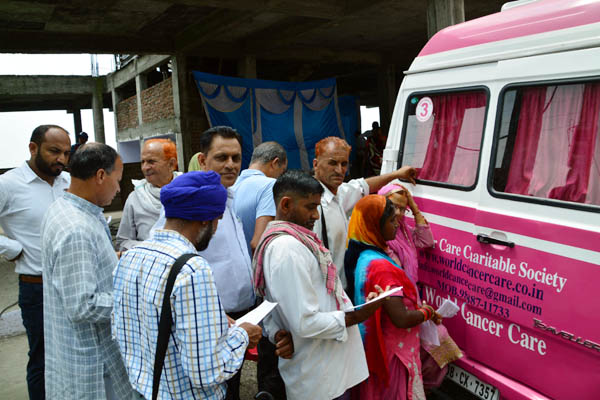 PunjabKesari, Health Care Van Image