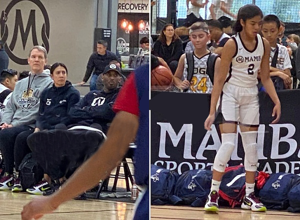 Photos of Kobe Bryant's daughter Gigi playing match before helicopter crach out
