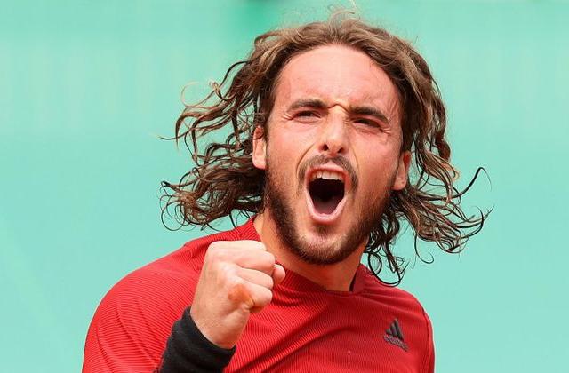 Sitsipas, Monte Carlo Masters, Tennis news in hindi, sports news,  स्टेफानोस सितसिपास,   मोंटे कार्लो मास्टर्स टेनिस टूर्नामें