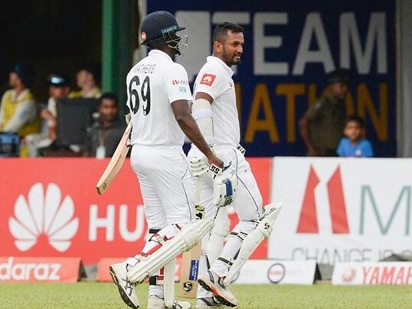 Sri Lanka lead with Chandimal's half-century against Pakistan