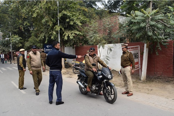 PunjabKesari,power, SDM, traffic, rule