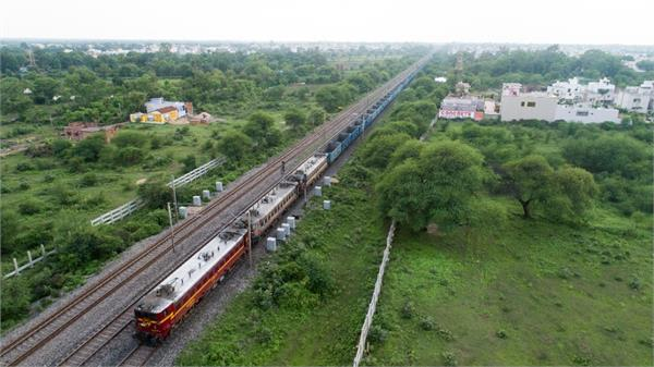 indian railways set another record super sheshnag train on track