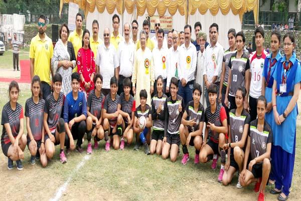PunjabKesari, Handball Team Image