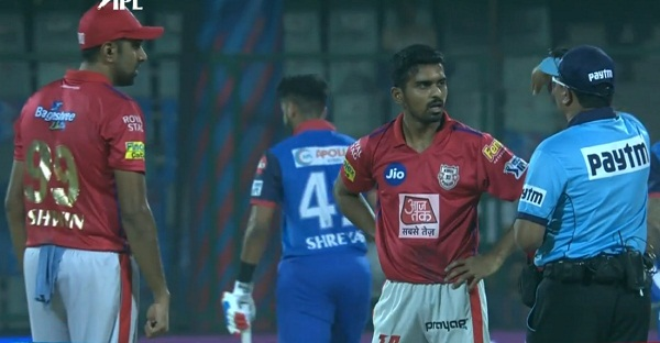IPL 2019 : Another No Ball controversy in KINGS XI Punjab match