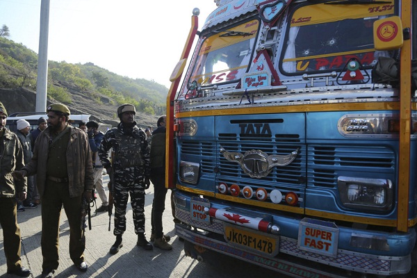 truck driver s wires linked to pulwama attack know what is the relationship
