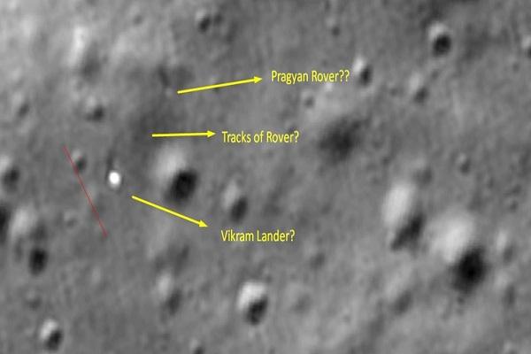 indian engineer sees vikram lander in the picture nasa isro