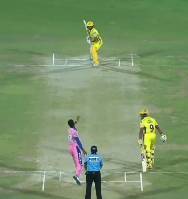 Ben Stokes take Catch of the tournament against RAJASTHAN ROYALS