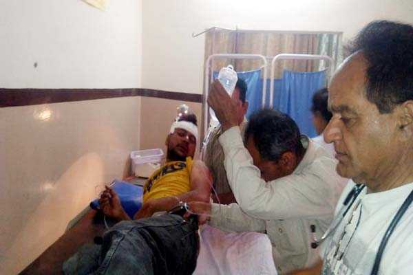 PunjabKesari, Injured Image